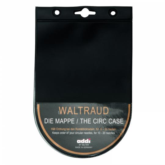 Addi 600-9 Rundstricknadeletui WALTRAUD