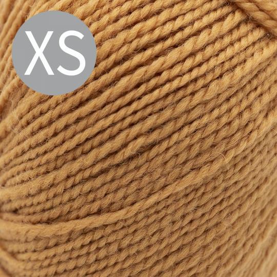 Kremke Soul Wool Strickset Sweater Semilla by Sharins Caramel