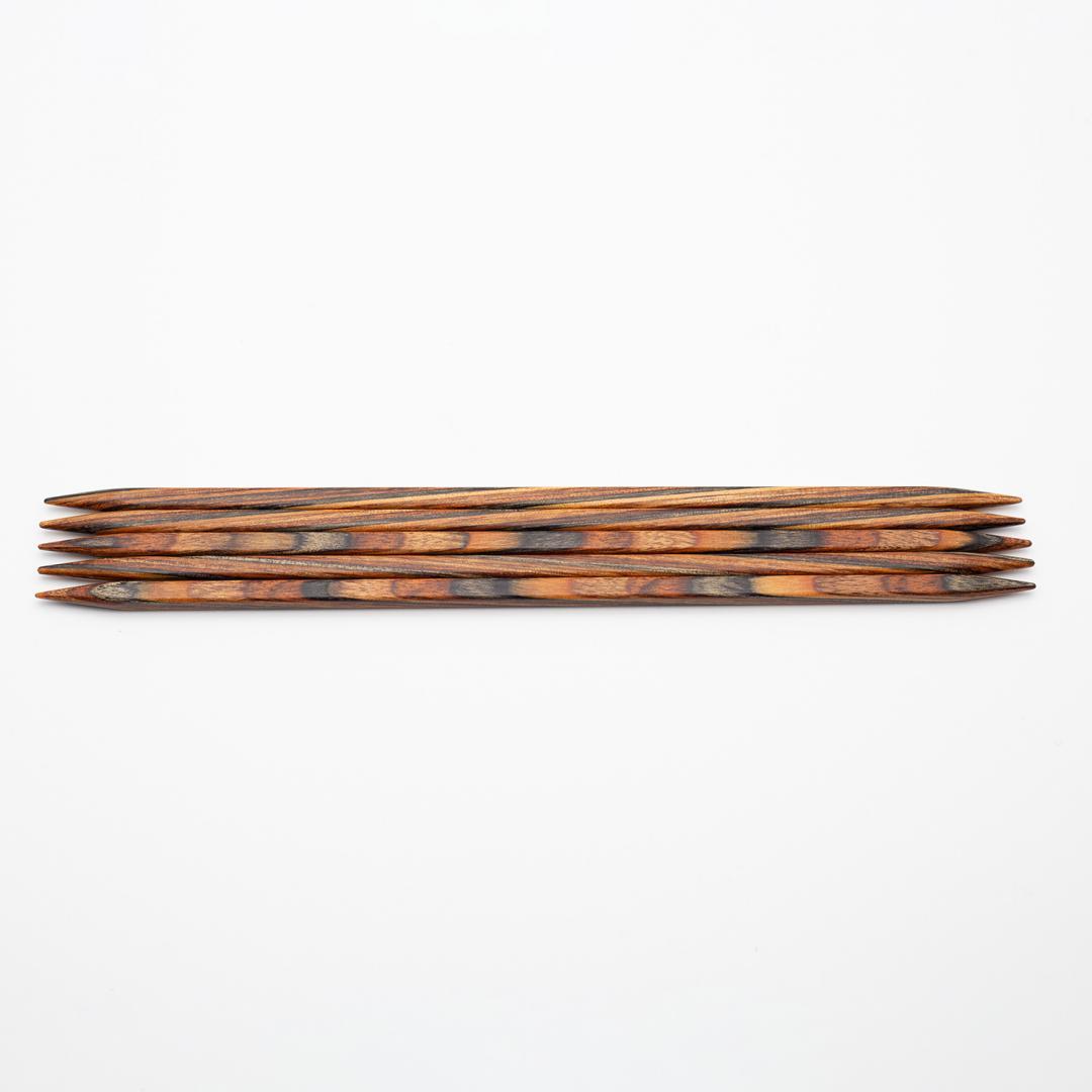 KnitPro KnitPro Naturals eckige Strumpfstricknadel CUBICS 20cm
