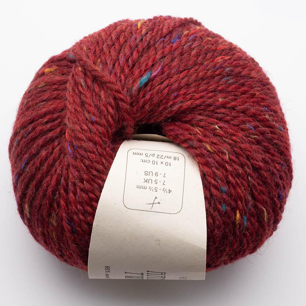 BC Garn Hamelton Tweed 1  rot