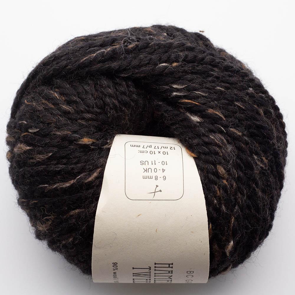 BC Garn Hamelton Tweed 1 schwarzbraun