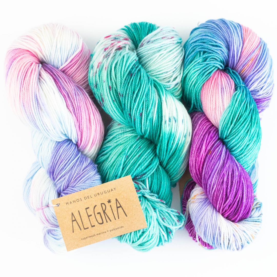 Alegria handgefärbt (100g)