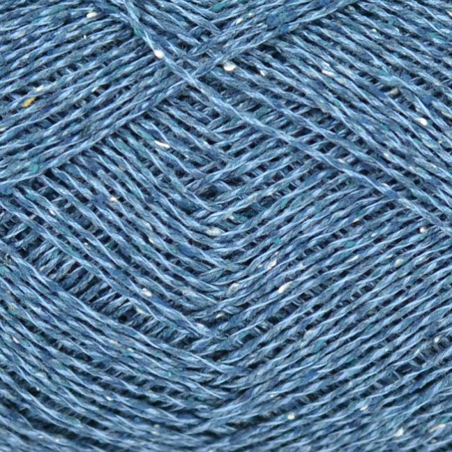 Karen Noe Design Japonica Silke Oxfordblau