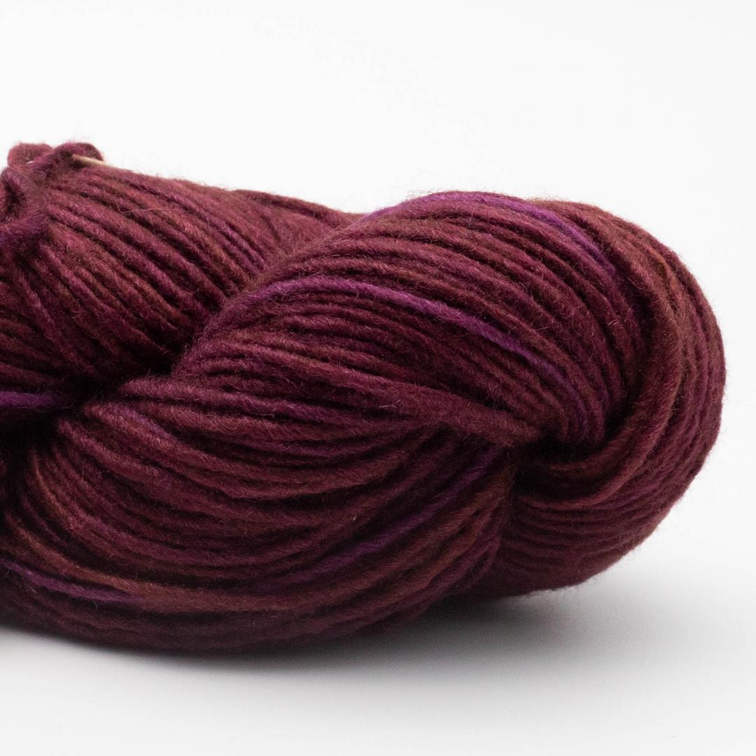 Manos del Uruguay Silk Blend uni handgefärbt BingCherry300M