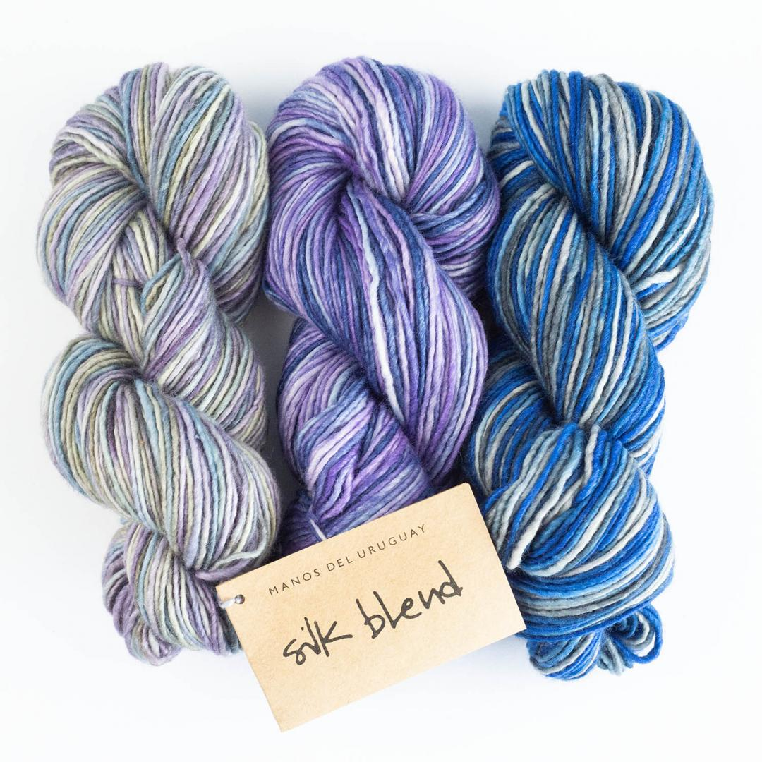 Manos del Uruguay Silk Blend Farbverlauf handgefärbt  Patina3304