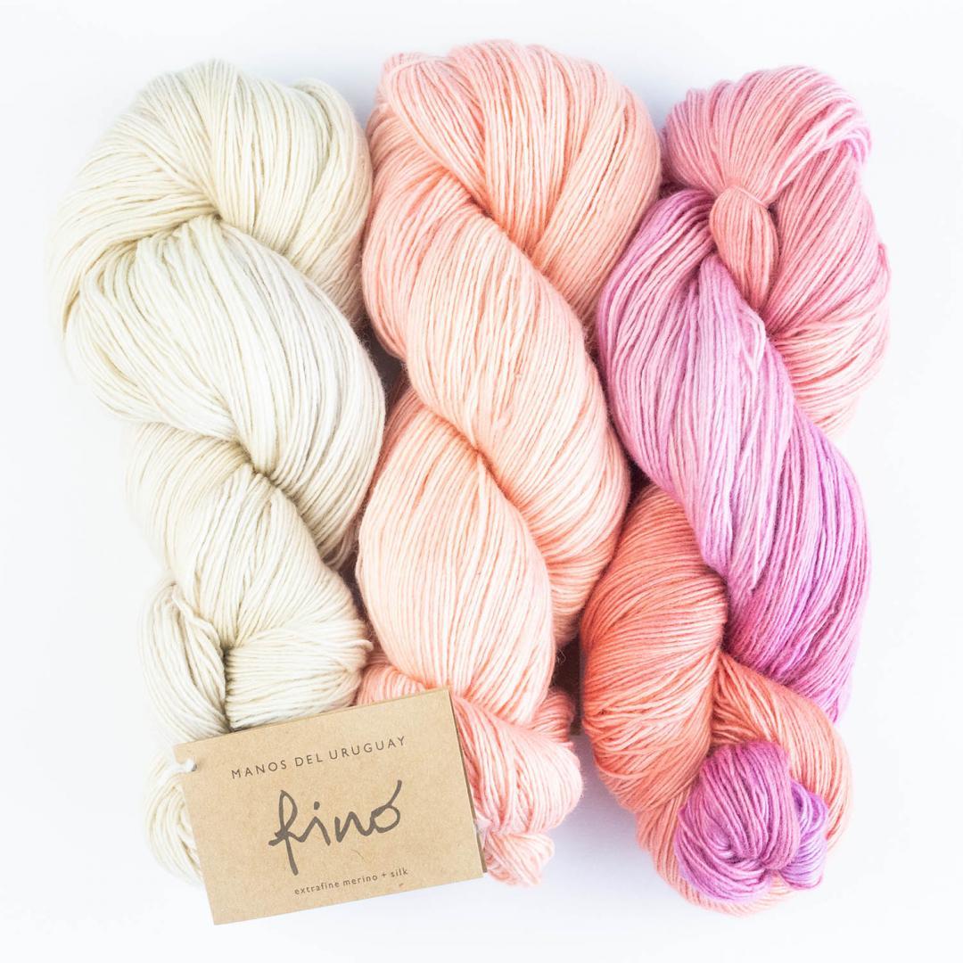 Silk Blend fino handgefärbt (100g)