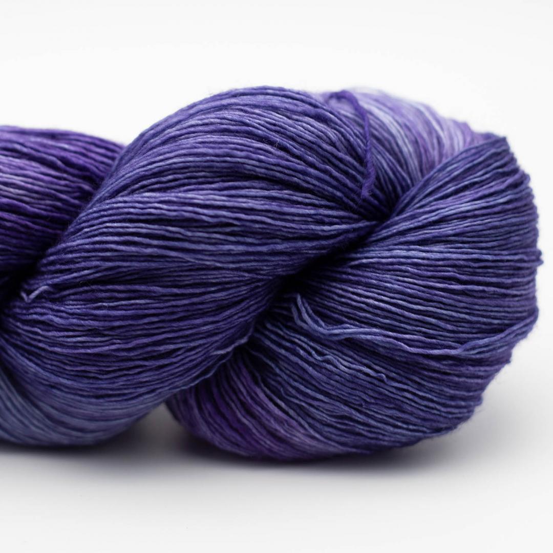 Manos del Uruguay Marina handgefärbt Violeta