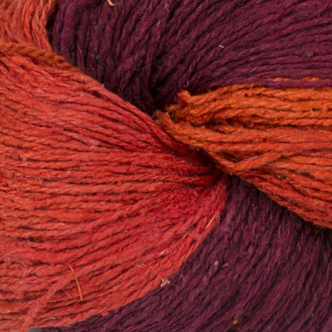BC Garn Soft Silk Handpaint (100g) red-house-mix