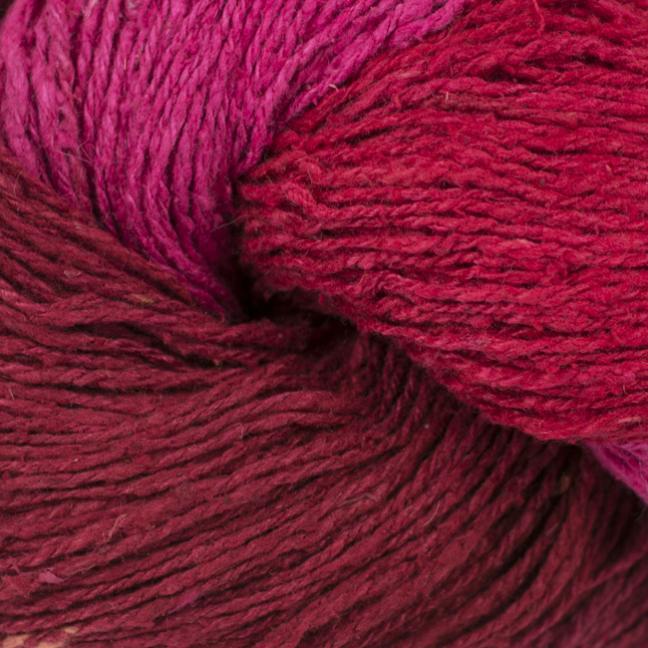 BC Garn Soft Silk Handpaint (100g) bordeaux-pink-mix