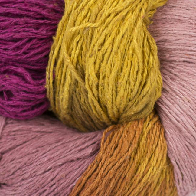 BC Garn Soft Silk Handpaint (100g) red-fresh-mix