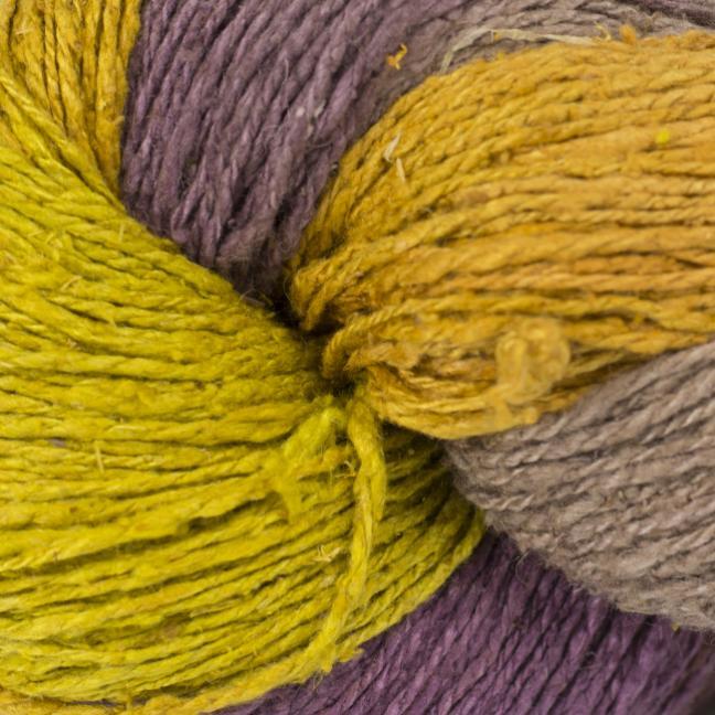 BC Garn Soft Silk Handpaint (100g) yellow-fantasie-mix