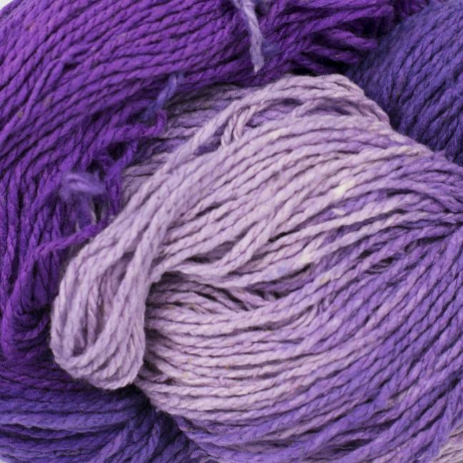 BC Garn Soft Silk Handpaint (100g) lila-flieder-mix
