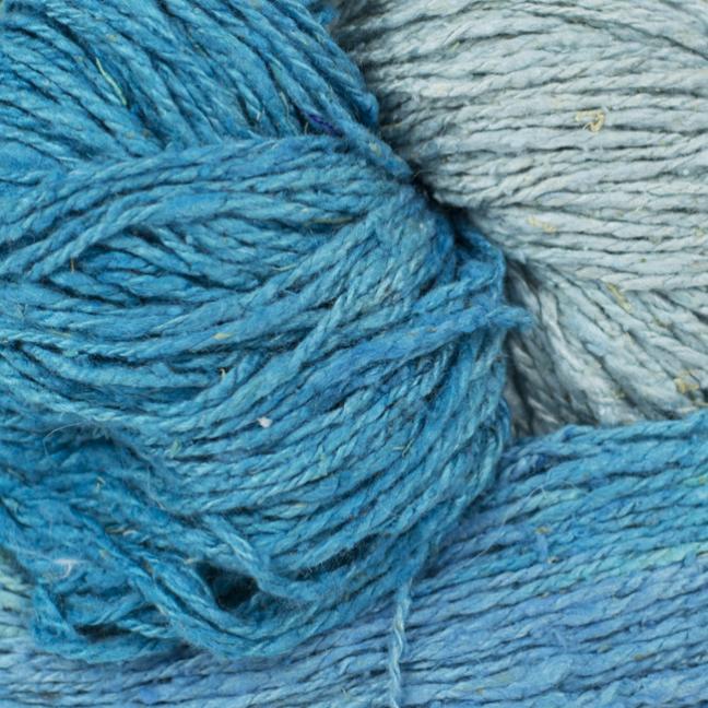 BC Garn Soft Silk Handpaint (100g) aqua-mix