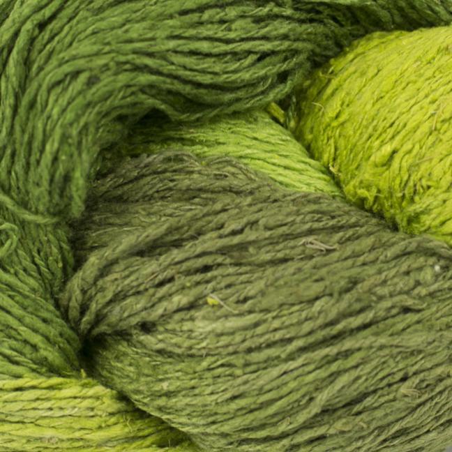 BC Garn Soft Silk Handpaint (100g)  greengarden-mix