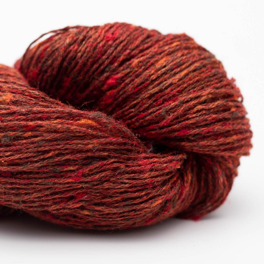 BC Garn Tussah Tweed brown-fantasie