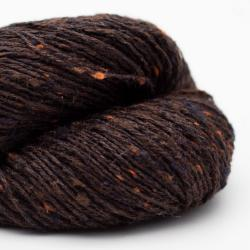 BC Garn Tussah Tweed schwarz-braun