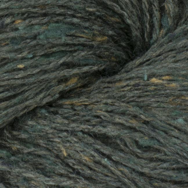 BC Garn Sarah Tweed rauch-grün