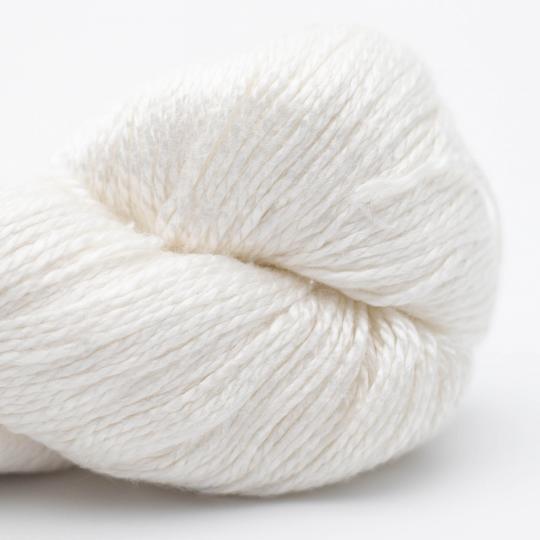 BC Garn Jaipur Silk Fino reinweiß