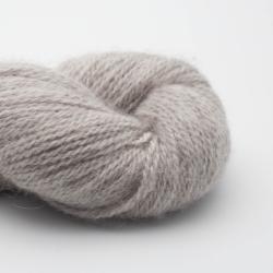 BC Garn Babyalpaca 10/2 auf 50g silber (ungefärbt)