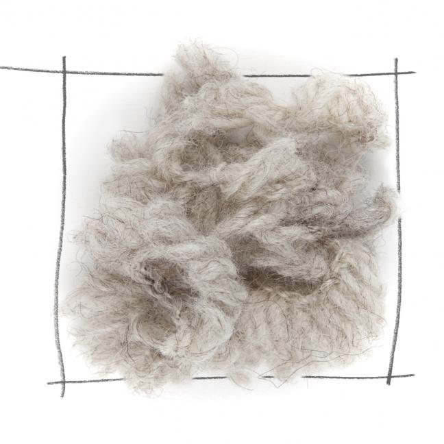 Erika Knight Fur Wool (100g) Flax