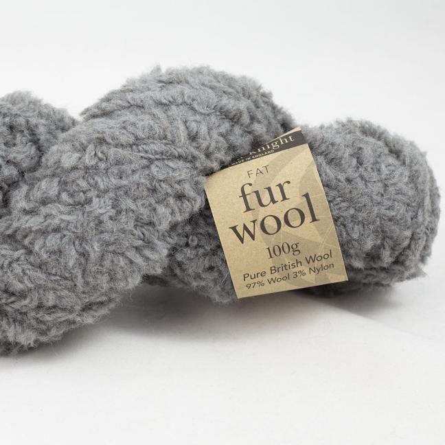 Erika Knight Fur Wool (100g) Storm