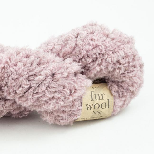 Erika Knight Fur Wool (100g) Pretty