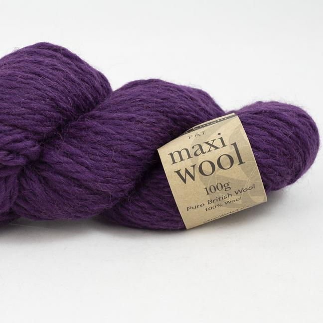 Erika Knight Maxi Wool 100g Mulberry