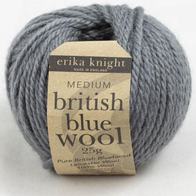 Erika Knight British Blue Wool (25g) Mouse