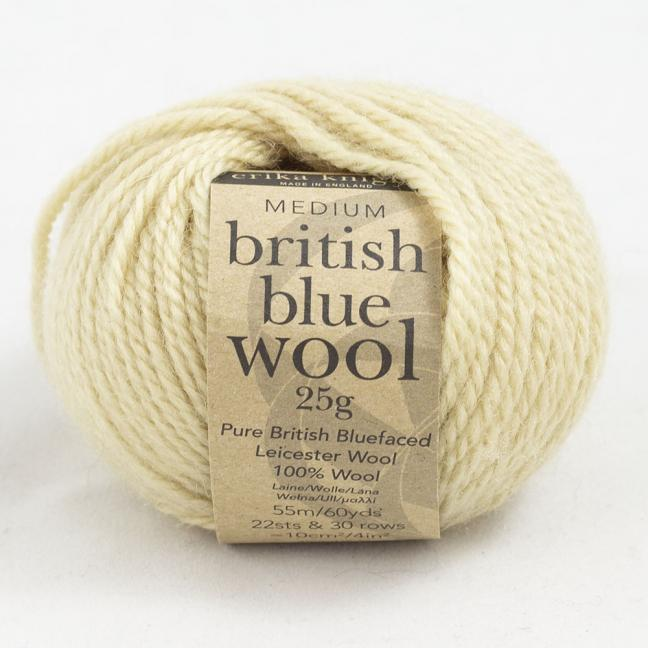 Erika Knight British Blue Wool (25g) Gift