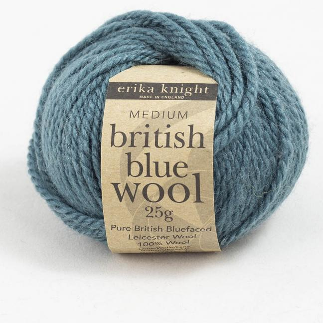 Erika Knight British Blue Wool (25g) Mr Bhasin
