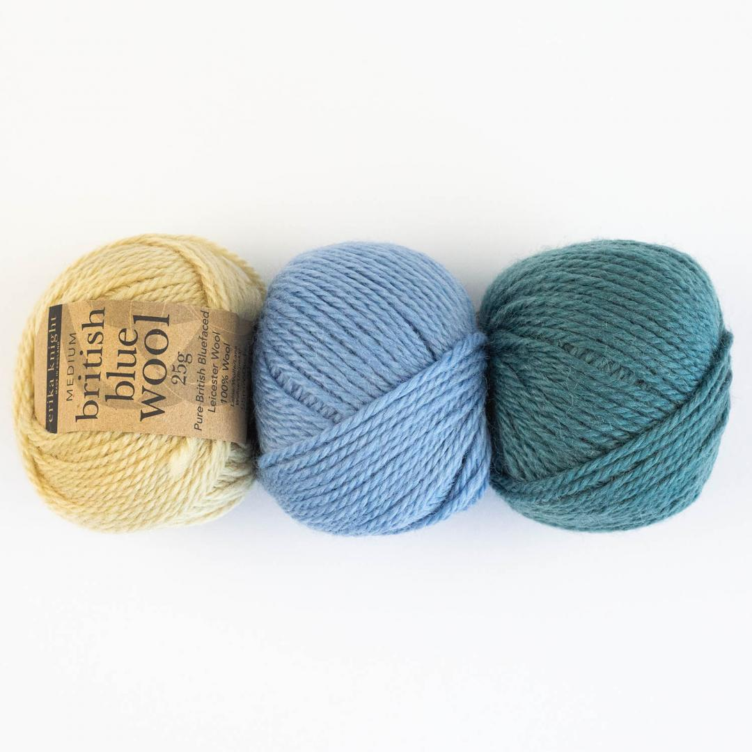 British Blue Wool 25g