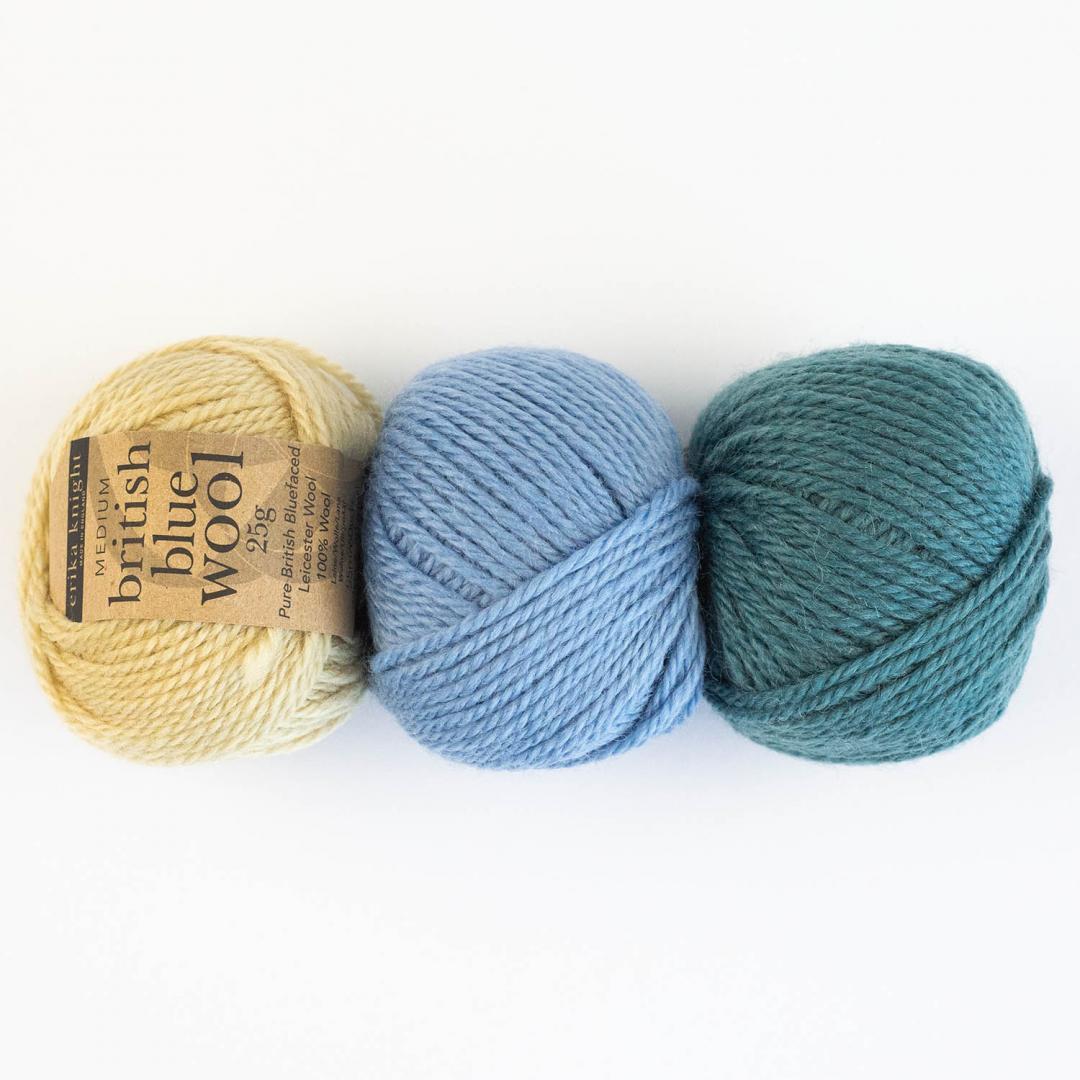British Blue Wool (25g)
