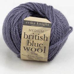 Erika Knight British Blue Wool 25g French