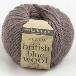 Erika Knight British Blue Wool 25g Milk Chocolate