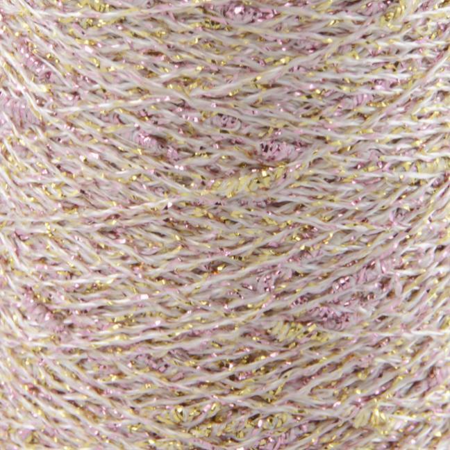 Karen Noe Design Stardust Lurexgarn rose-gold