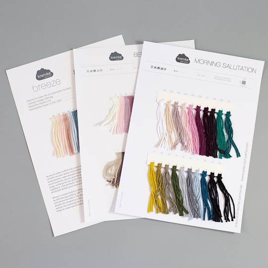 Farbkarten von Kremke Soul Wool