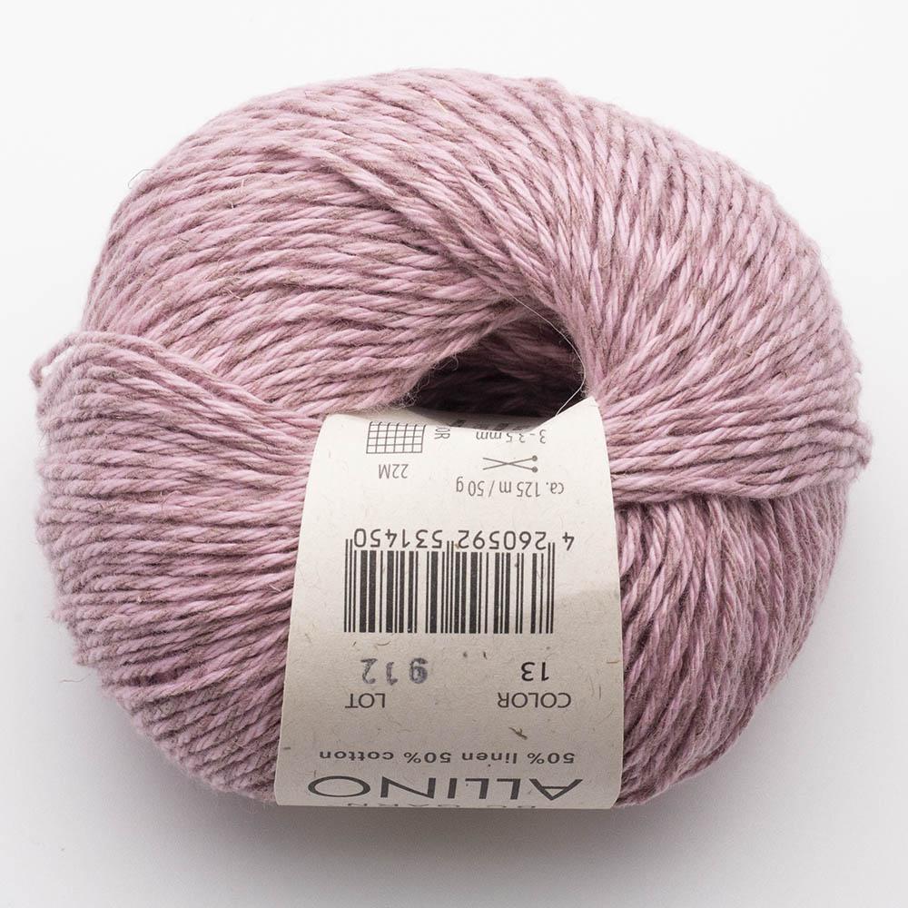 BC Garn Allino Leinen/Baumwolle Rosa-beige