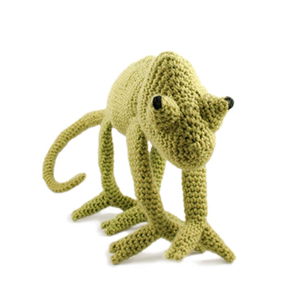 TOFT Edwards Menagerie Materialpakete Chameleon green