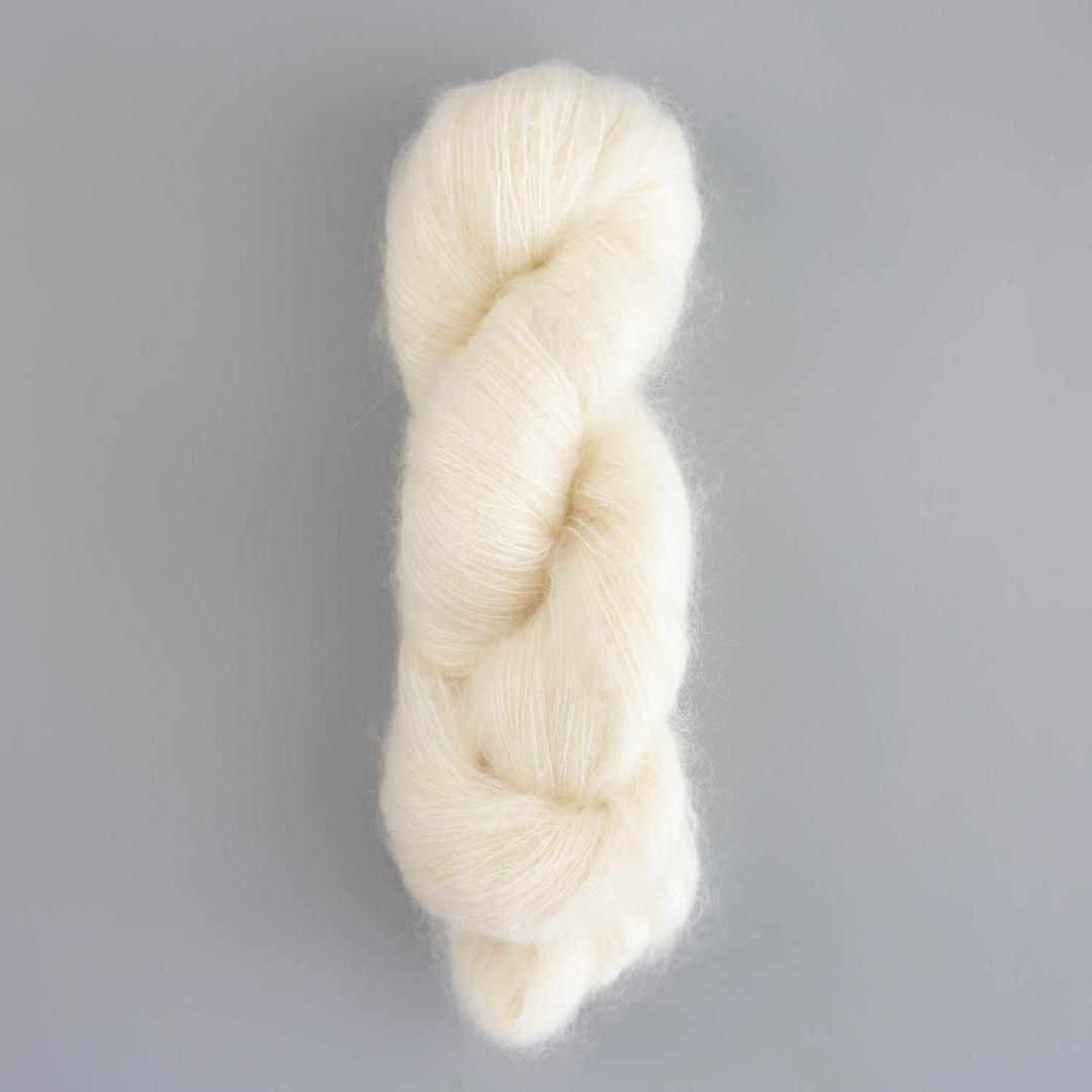 Kremke Soul Wool Silky Kid (50g Strang) ungefärbt