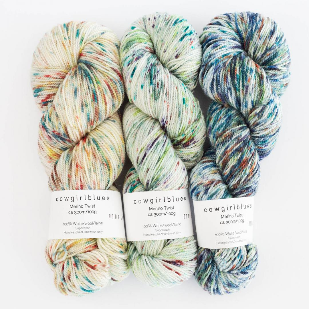 Merino Sock Twist Yarn Farbverlauf (100g)