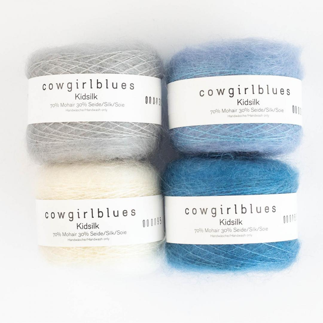 Cowgirl Blues KidSilk (25g) solids   Airforce