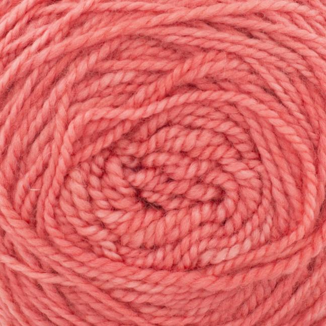 Cowgirl Blues Merino Twist Yarn solids Ruby Grapefruit
