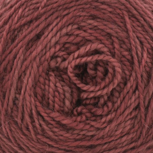 Cowgirl Blues Merino Twist Yarn solids Marsala