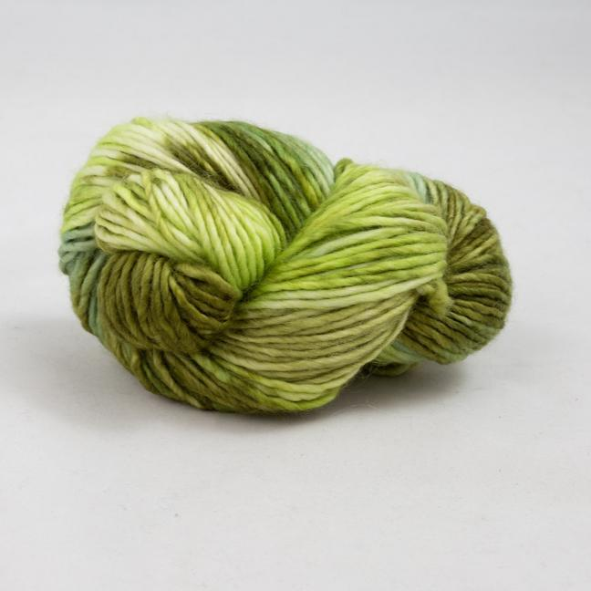 Cowgirl Blues Aran Single Farbverlauf (100g) OliveHeatherSpringSage