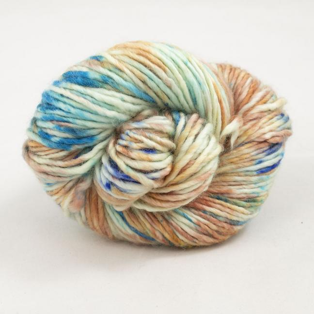 Cowgirl Blues Aran Single Farbverlauf (100g) Shorebreak Sunset