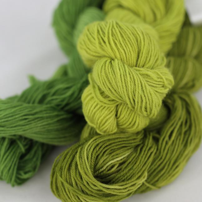 BFL-Pure hand-dyed 150g Restepaket