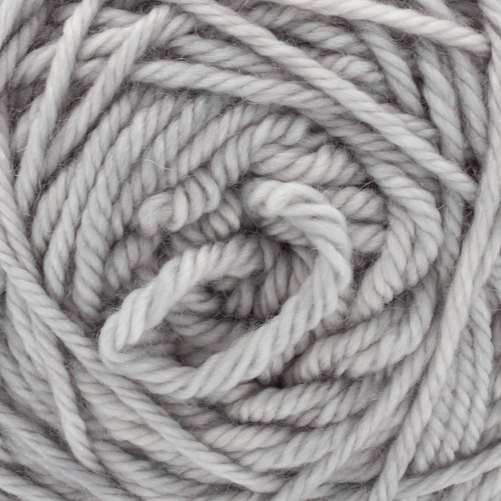 Cowgirl Blues Merino DK solids 50g Silver Fox