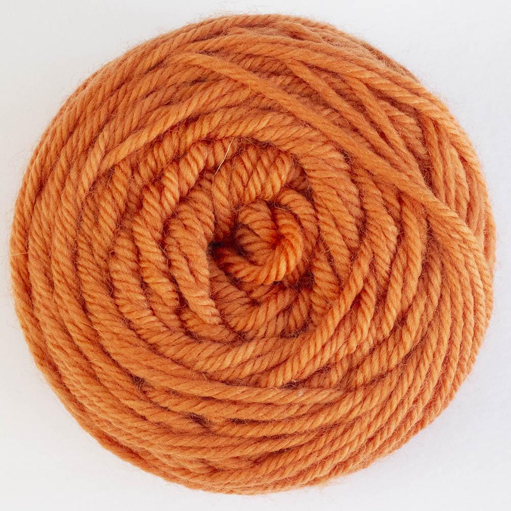 Cowgirl Blues Merino DK solids 50g Carrot Juice