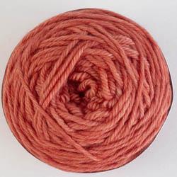 Cowgirl Blues Merino DK solids 50g Ruby Grapefruit