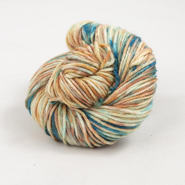 Cowgirl Blues Merino DK Farbverlauf (100g) Shorebreak Sunset